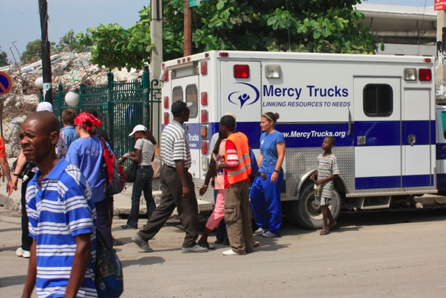 Mercy Trucks in HAITI