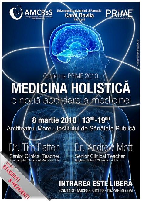 Conferinta Medicina Holistica