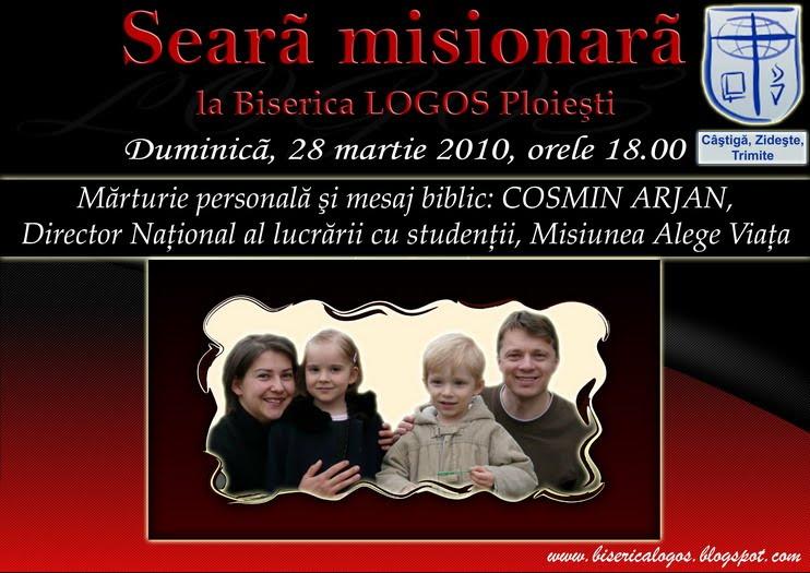 Seara misionara la Ploiesti