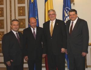 Delegatie baptista la Presedintele Traian Basescu