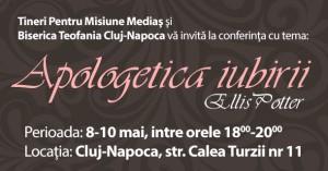 Conferinta de apologetica cu Ellis Potter la Cluj-Napoca